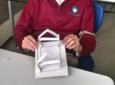 Roof project - Workshops at Endaze International School