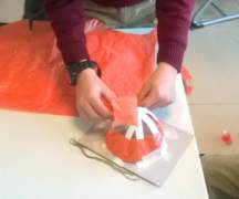 Shelter project - Workshops at Endaze International School