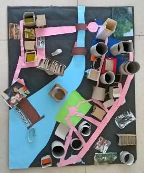 Neighborhood project - Workshops at Endaze International School