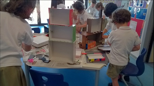 Making Houses in the classroom